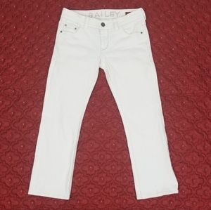 DELIA'S Bailey White Jeans